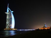 The iconic Dubai hotel Burj Al Arab is one of the main tourist attractions in the emirate.