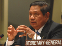 Indonesia's President Susilo Bambang Yudhoyono