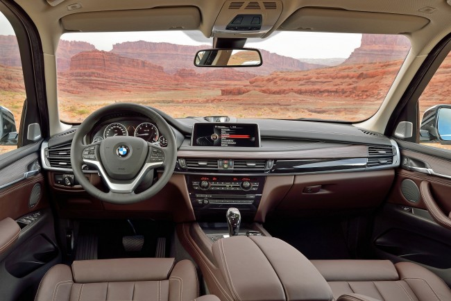 all new BMW X5 interior