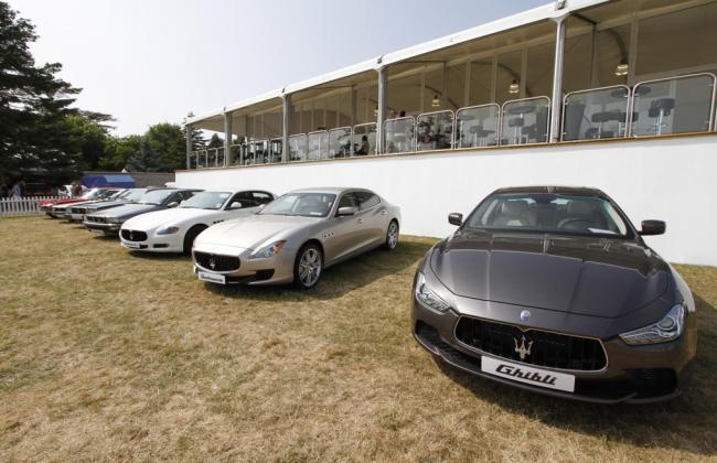 Maserati Line up