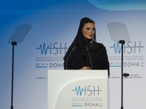 Her Highness Sheikha Moza bint Nasser, Chairperson of Qatar Foundation for Education, Science and Community Development