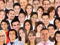 Diverse Racial people