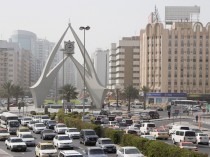Traffic Dubai