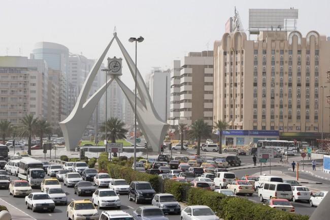 Traffic Dubai