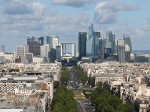 The Financial District in Paris
