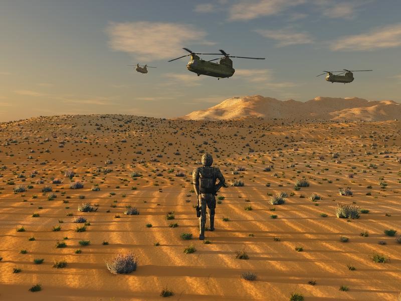 Army desert