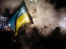 Pro-Europe protests in Ukraine's largest city Kiev.