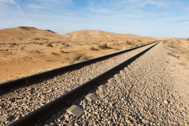 Rail desert