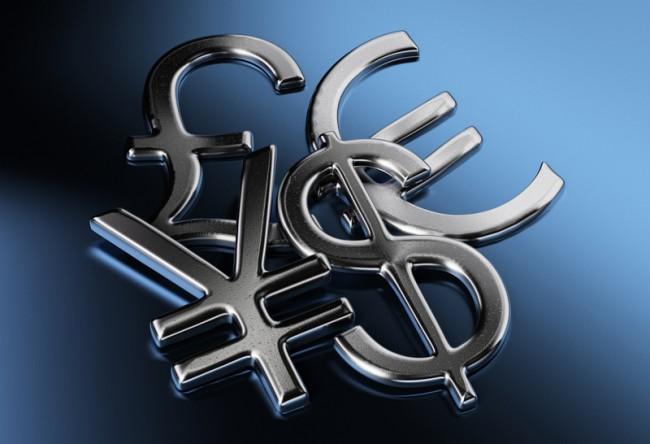 dollar euro pound