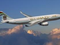 Etihad Airways' plane