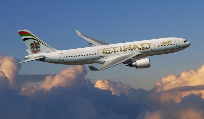 Etihad Airways' plane