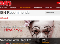 A screen grab from OSN's website recommends a blockbuster TV show.