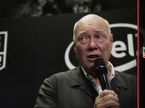 Jean Claude Biver at Baselworld.