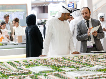 Visitors at Cityscape Abu Dhabi