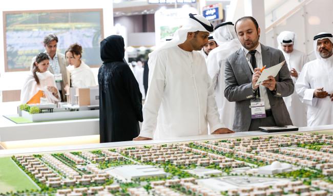 Visitors at Cityscape Abu Dhabi