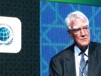 Sir Mark Moody-Stuart gives keynote address at the corporate accountability summit in Dubai.