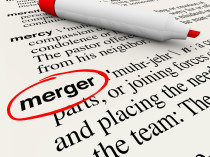 Merger Dictionary Definition Word Combine Companies Businesses