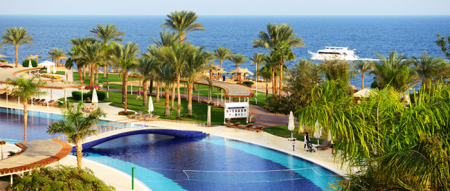 Sharm El Sheikh, Egypt -  December 3: The Tourists Are On Vacati