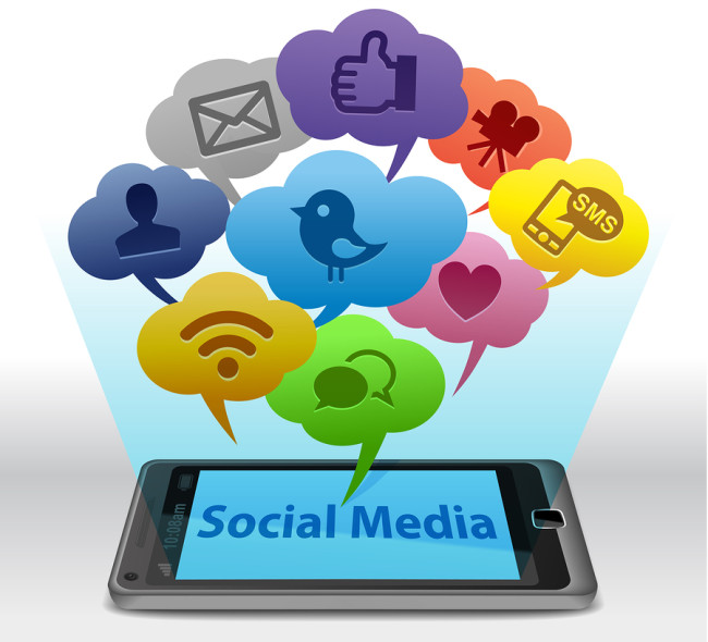 Are luxury brands in the region using social media adequately?