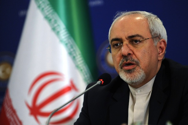 Iran's foreign minister Javad Zarif was in Vienna negotiating the deal for the past few days.