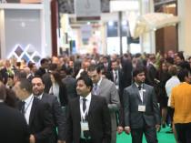 Attendees at Bahrain's Arabian Travel Mart
