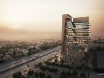 Renderings of Abdul Latif Jameel 's new eco-friendly and energy efficient headquarters in Jeddah.