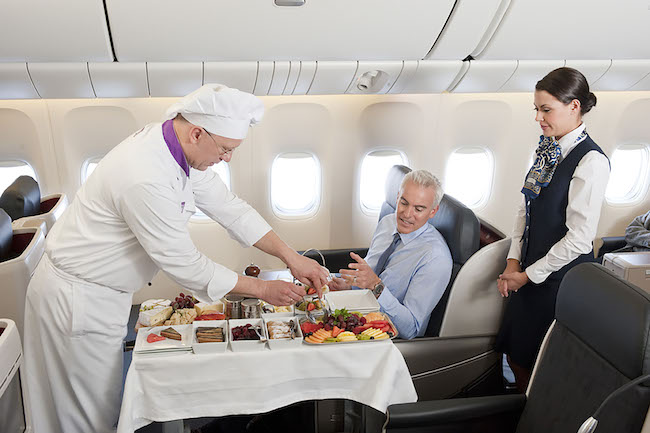 Travel catering industry in the Middle East is growing five per cent faster than the global average.