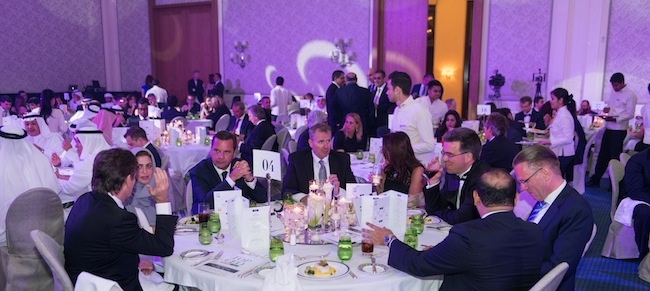 Attendees and CEOs at the last year's Top CEO event in Dubai.