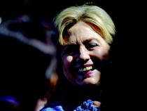 US Presidential hopeful Hillary Rodham Clinton.