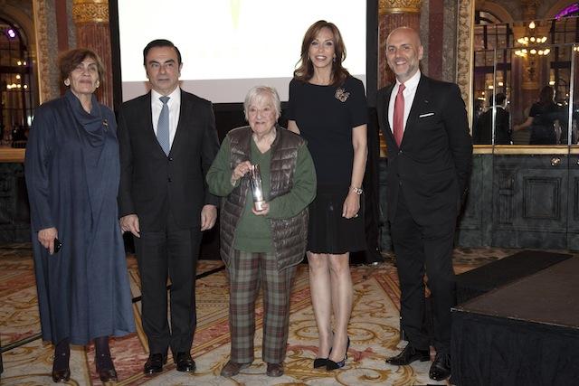 TAKREEM 2016 Awarding Etel Adnan.