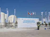 Masdar's Renewable Energy Desalination Pilot Plant aims to identify the most sustainable water technology