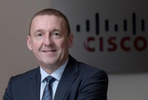 Mike Weston, Vice-President, Cisco, Middle East
